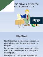 Herramientas Para La Búsqueda de Empleo y Uso