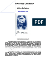 Lillian Dewaters the Practice of Reality