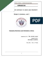 Criminal Law - I