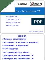 Seminário - Servomotor CA-pp2013