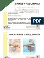 OPERACIONES Y MÁQUINARÍA EN CARNICOS