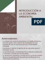 Introducción a La Economía Ambiental