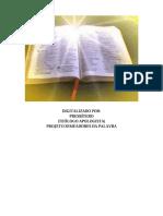 Bíblia Revelada Di Nelson- Carta Aos Efésios