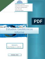 estudios geotecnicos