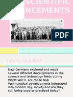 nazi scientific advancements