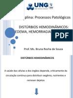 8) Distúrbios Hemodinâmicos I