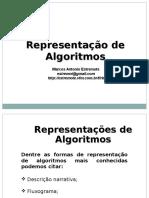 Representacao de Algoritmos