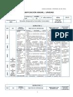 Ed. Fisica Planificacion - 1 Basico