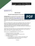MCSD Hardship Application Process