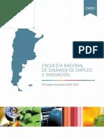 Encuesta Nacional de Dinámica de Empleo e Innovación