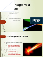 Usinagem a Laser
