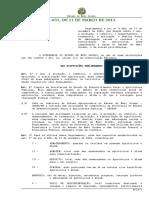 Decreto N.º 1.651, De 11 de Março de 2013