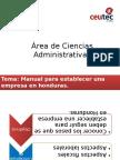 Plantilla B-l Manual de Pasos Para Establecer y Operar Una