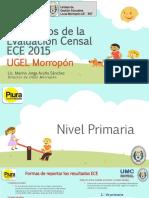 Morropón Resultados ECE 2015
