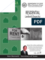 Landlord Tenant Act-revised
