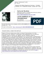 Escobar 2010 LatAm at Crossroads Cultural Studies