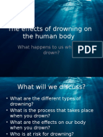 The Effects of Drowning on the Human Body