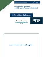 SEAI 2016 - Informática Aplicada
