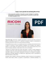 160502 Alexandra Berckemeyer, nueva gerente de marketing Ricoh Perú