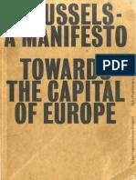 Aureli Pier Vittorio - Brussels a Manifesto