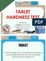Tablet Hardness Test