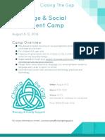 closingthegap camp august 2015