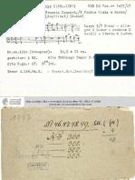 Telemann Manuscrit