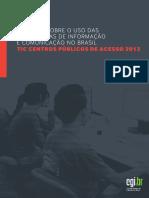 Tic Centros Publicos de Acesso 2013