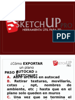 Tutorial basico para utilizar google sketch up
