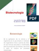 Biotecnología; Clase 01 Introducción