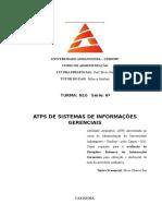 ATPS DE SISTEMAS DE INFORMAÇÕES GERENCIAIS.doc