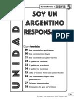 3. Soy Un Argentino Responsable