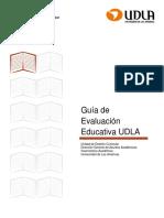 Guía de Evaluación Educativa UDLA