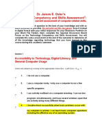 technology competency and skills assessment 2