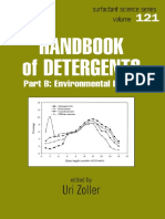 Handbook of Detergents, Part B Environmental Impact (Surfactant Science Series Vol 121)(Marcel Dekker, 2004)