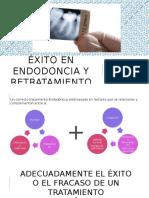 Éxito en Endodoncia y Retratamiento