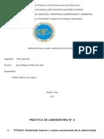Materiales Buenos y Malos Conductores de La Electricidad Fisica (1)