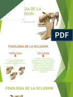 Fisiologia de La Oclusion1
