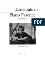 Fundamentals of Piano Practice