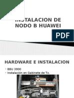 Instalacion de Nodo b Huawei
