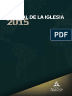 Manual de reglamentos iglesia adventista 2015