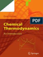Chemical Thermodynamics (Ernő Keszei)