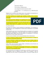 Área Derecho Internacional Público