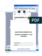 Proyecto Final Auditoria Energética