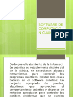 Software de Computacion Cuantica