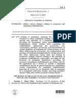 Initiative Petition No. 1 - Recreational Marijuana