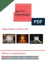 sec  9 3  hyperbolas