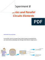 Expt. 8 Series and Parallel Circuits