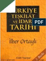 lber Ortaylı-Türkiye Teşkilat ve İdare Tarihi.pdf
