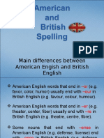 American and British Spelling[1][1]